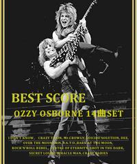 【14曲SET】オジー・オズボーン  OZZY OSBOURNE)  BEST  OF (TAB譜) 楽譜