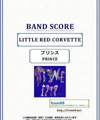プリンス( PRINCE )  /  LITTLE RED CORVETTE  バンド・スコア(TAB譜)  楽譜