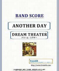 ドリーム・シアター (DREAM THEATER) / ANOTHER DAY バンド・スコア(TAB譜) 楽譜 from68