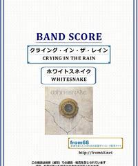 ホワイトスネイク(WHITESNAKE)  / クライング・イン・ザ・レイン  (CRYING IN THE RAIN)  バンド・スコア(TAB譜) 楽譜