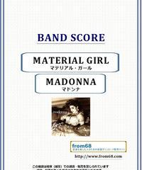 マドンナ(MADONNA)  / マテリアル・ガール(MATERIAL GIRL) バンド・スコア(TAB譜) 楽譜