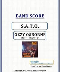 オジー・オスボーン( OZZY OSBOURNE) / S.A.T.O. バンド・スコア(TAB譜) 楽譜