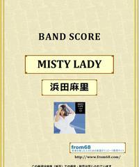 浜田麻里 / MISTY LADY (ミスティー・レディー) バンド・スコア (TAB譜) 楽譜 from68