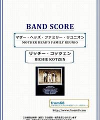 リッチー・コッツェン(RICHIE KOTZEN)  / マザー・ヘッズ・ファミリー・リユニオン(MOTHER HEAD'S FAMILY REUNION)  バンド・スコア(TAB譜) 楽譜