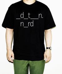 _d_t__n. n_rd Tシャツ/ silver letters
