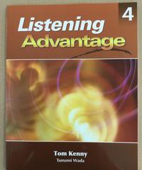 共通1~4)アドバンスト・リスニング(応用)設楽優子「Listening Advantage Book 4,Text with AudioCD」