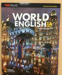 英語Ia 大友彩子「World English 1A ,3rd Edition」