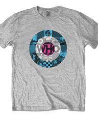THE WHO: Target Blocks (ユニセックス バンドTシャツ) 【HV02-T16-02-S~XL】