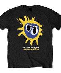 PRIMAL SCREAM : screamadelica  yellow (ユニセックス バンドTシャツ) 【HV02-T09-01-S~XL】