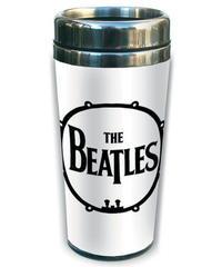 THE BEATLES : drum ceramic travel mug(ロック雑貨 マグカップ) 【HV00-M01-01】