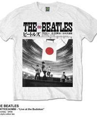 THE BEATLES : live at the budokan (ユニセックス バンドTシャツ) 【HV00-T01-01-S~L】