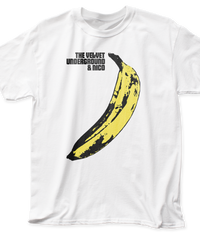 THE VELVET UNDERGROUND : Banana (ユニセックス バンドTシャツ)【HV03-T01-01-S~XL】