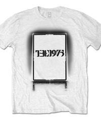 THE 1975 : black tour white (ユニセックス バンドTシャツ)  【HV02-T01-02-S~XL】