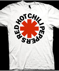 RED HOT CHILI PEPPERS: Red Asterisk (ユニセックス バンドTシャツ) 【HV02-T12-01-S~XL】