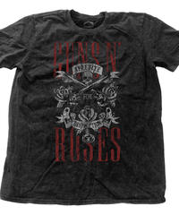 GUNS N' ROSES : appetite for destruction with snow wash  (for unisex t shirts)【HV00-T08-01-M~L】