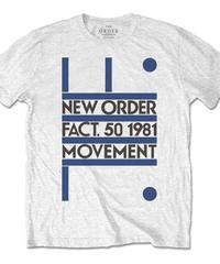 NEW ORDER : movement (ユニセックス バンドTシャツ) 【HV02-T05-01-S~XL】
