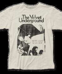 THE VELVET UNDERGROUND : White Light/White Heat (ユニセックス バンドTシャツ)【HV03-T01-02-S~XL】