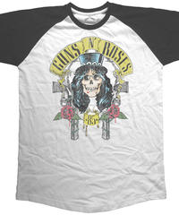 GUNS N' ROSES : slash 85 raglan (for unisex t shirts)【HV00-T08-07-S~L】