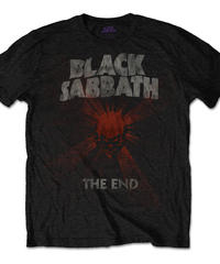 BLACK SABBATH : the end mushroom cloud (for unisex t shirts)