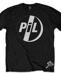 PUBLIC IMAGE LIMITED (P.I.L.) : logo (ユニセックス バンドTシャツ) 【HV02-T08-02-S~XL】