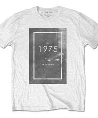 THE 1975 : facedown white (ユニセックス バンドTシャツ)  【HV02-T01-03-S~XL】