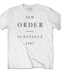 NEW ORDER : substance (ユニセックス バンドTシャツ) 【HV02-T05-02-S~XL】