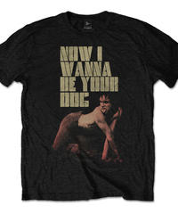 IGGY & THE STOOGES: Wanna Be Your Dog (ユニセックス バンドTシャツ) 【HV02-T13-01-S~XL】