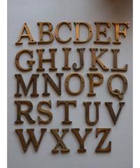 真鍮 アルファベット 大