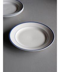 ブルーライン皿 4枚セット a