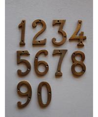 真鍮 数字 大