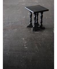 台/サイドテーブル 黒