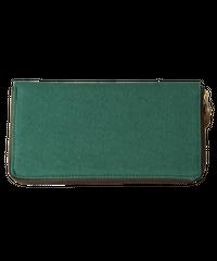 02 千菱 (長財布)染色 グリーン