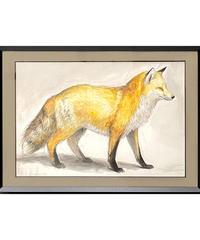 彫刻家・中里勇太 Yuta Nakazato・Drawing・狐