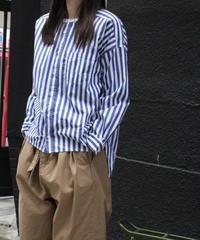 UT200SH012 バーバーストライプ ワーキングシャツ