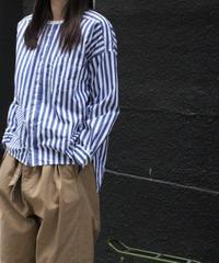 UT193SH012 バーバーストライプ ワーキングシャツ