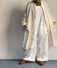 TS210JK085 スタンドカラー ポンチョジャケット 【010/リネンシロ/size 3】