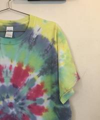 Gariiro/tie-dye T/size L