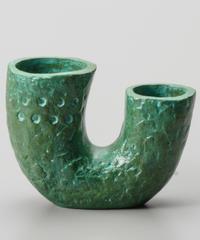 青銅 二口壺