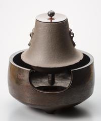 唐銅 道安風炉