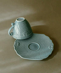 Genevieve Lethu / Demitasse cup and Saucer