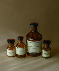 Hungary old medicine bottle.
