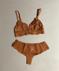Flower lace setup lingerie *thong