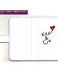 手帳型iPhoneケース印刷(XR用・ミラー付)