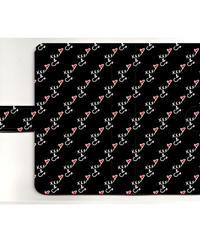 手帳型スマホケース印刷(汎用タイプ・フラップ有・内面黒)Mサイズ
