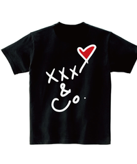 バックプリントXXX&Co.(5.0oz)白線