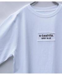 """ヴィンテージコットン"""" e-beshita. """"6分袖T"""