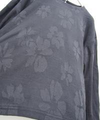 【日本製】リヨセル綿フラワーJQプルオーバー