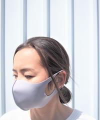 【日本製】繰り返し洗えて使えるマスク(アイスグレー5枚 ✕ 1セット)