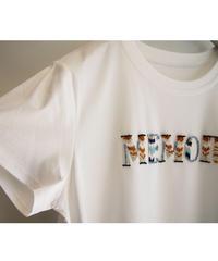 セルロース【 MEMORY 】ビジュー刺繍Tシャツ