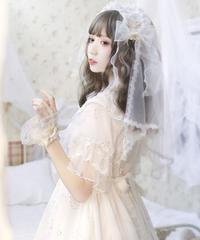 「星のささやき」ベール付きヘッドドレス ※お洋服と合わせ買いの方のみ※【8/4まで】